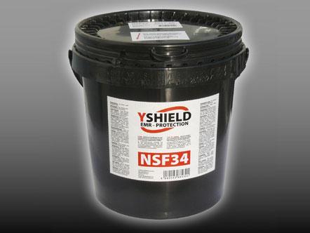 NSF34 Pintura de blindaje bote 5 litros